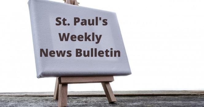St. Paul's September 20th News Bulletin