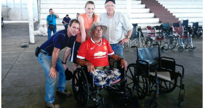 Guatemala Missions - Wheelchair Distribution image