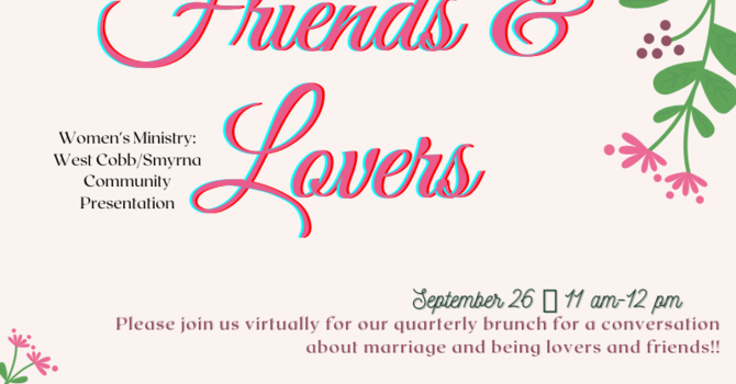 Married Women's Brunch: Friends & Lovers image