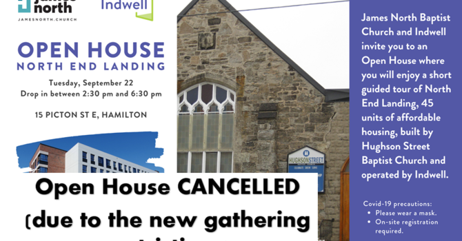 ***(Cancelled)North End Landing Open House