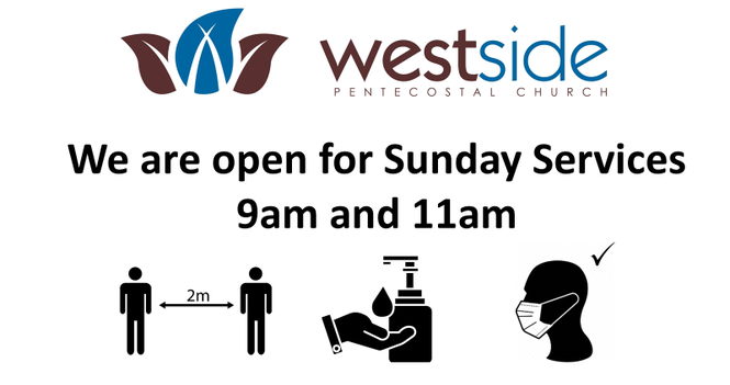 Westside  Open for Sunday Services