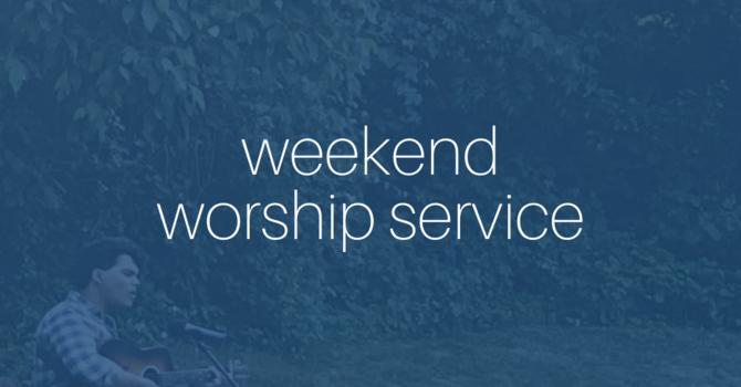 Outdoor Weekend Worship Service