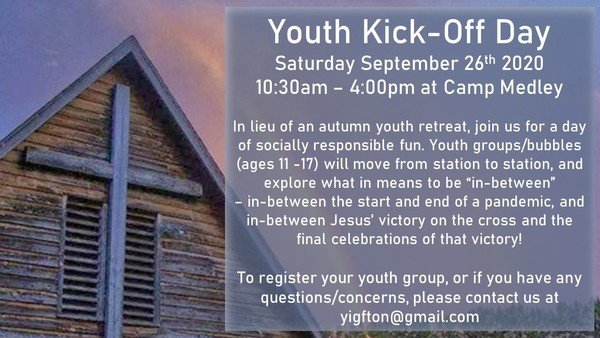 Diocesan Youth Kick-Off Day this Saturday!