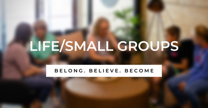 Life/Small Groups Update image