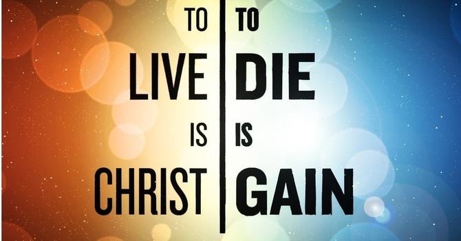 """""""Living for Christ"""""""