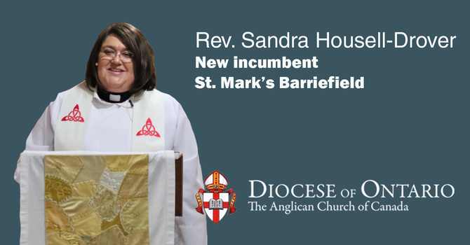 New incumbent for St. Mark's Barriefield image