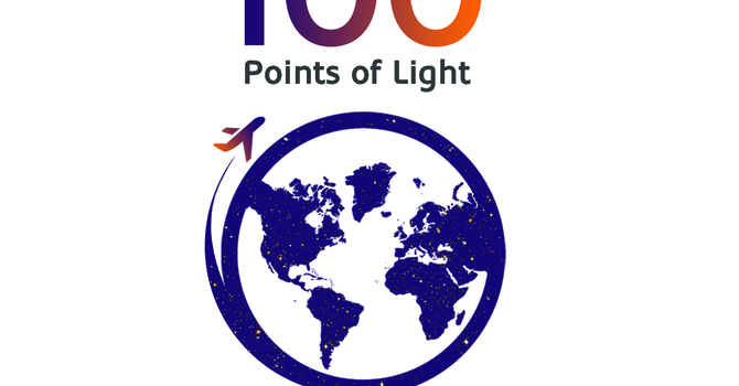 100 POINTS OF LIGHT image