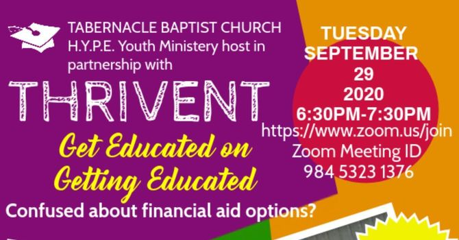 H.Y.P.E. Youth Ministry and THRIVENT presents