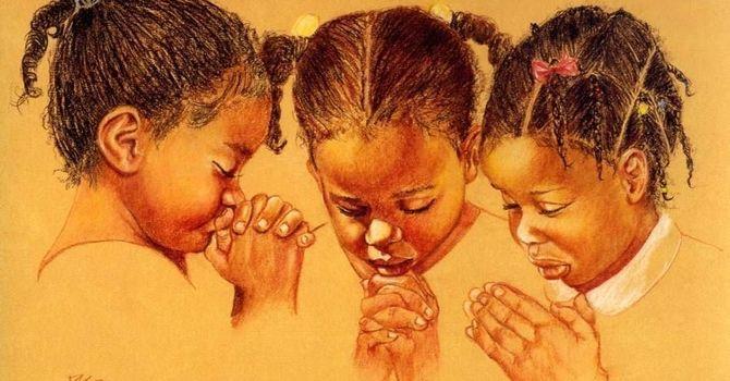 A Little Girl's Prayer image