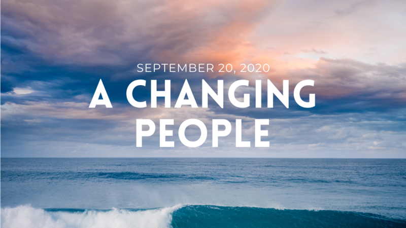 A Changing People