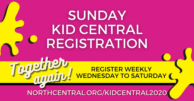 Kid Central | 9am & 11am Worship Services
