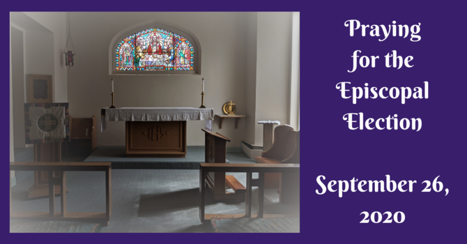 Praying for the Episcopal Election image