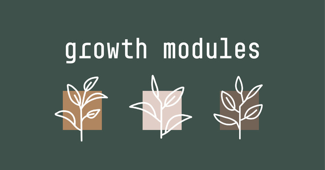 Growth Module  - Spiritual Formation