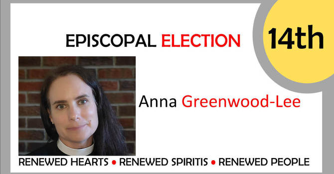 Welcome, Bishop-Elect Anna Greenwood-Lee