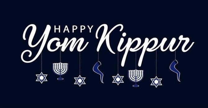 Happy Yom Kippur (Day of Atonement)