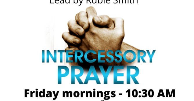 Intercessory Prayer Meeting