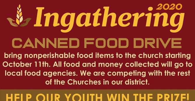 In-gathering Food Drive image