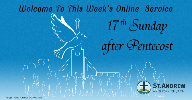 September 27, 2020 On-Line Sunday Service image