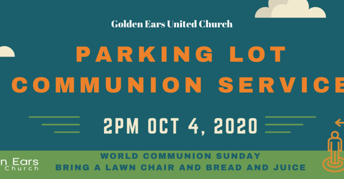 Parking Lot Worship Service with Communion