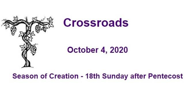 Crossroads October 4, 2020 image