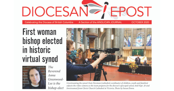 Diocesan Post for October 2020 image