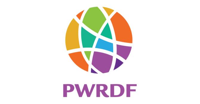 PWRDF: September/October Update image