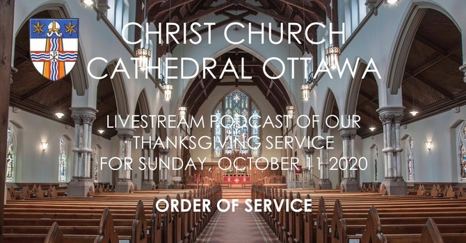 Order of Service for Harvest Thanksgiving