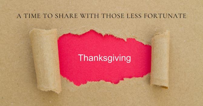 Urgent Thanksgiving Message - UCC image