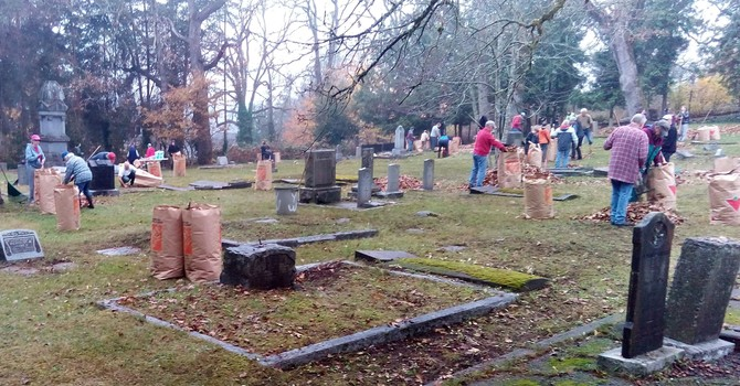 St. Andrew's Cemetery Cleanup