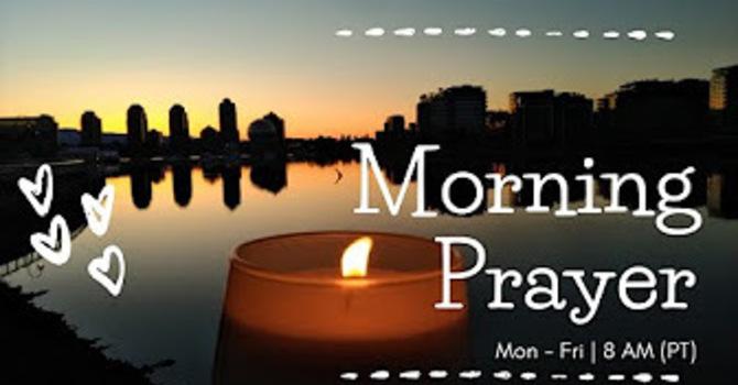 20 October 2020 Morning Prayer
