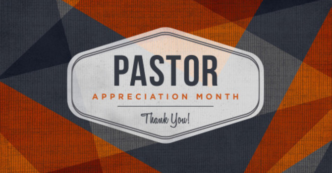 Ministers Appreciation Month