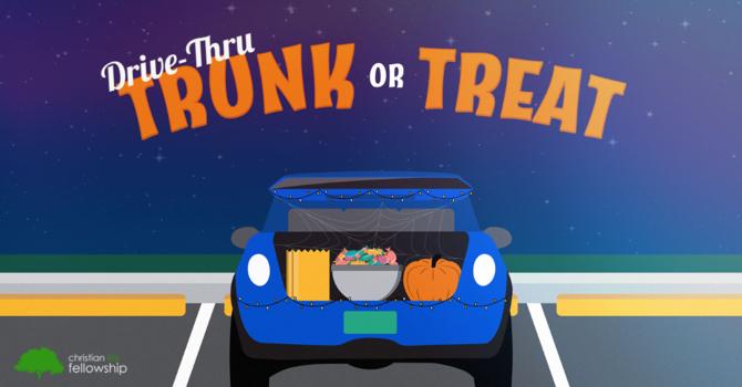 Drive-Thru Trunk or Treat