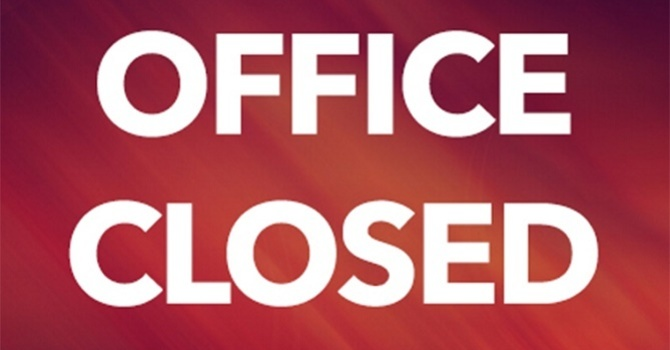 Synod Office closed Dec. 24 (noon) - Jan. 3