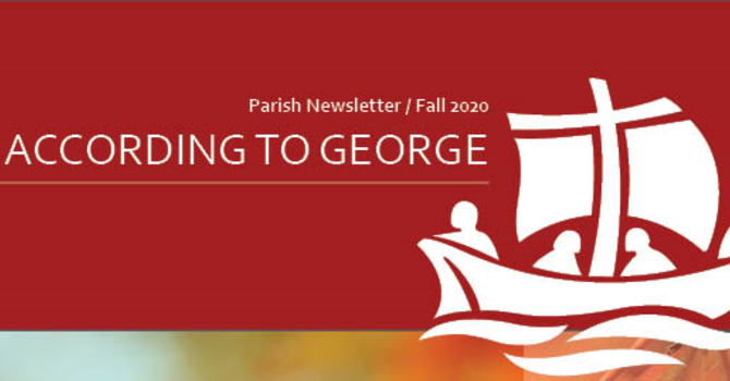 According to George: Seasonal Newsletter image