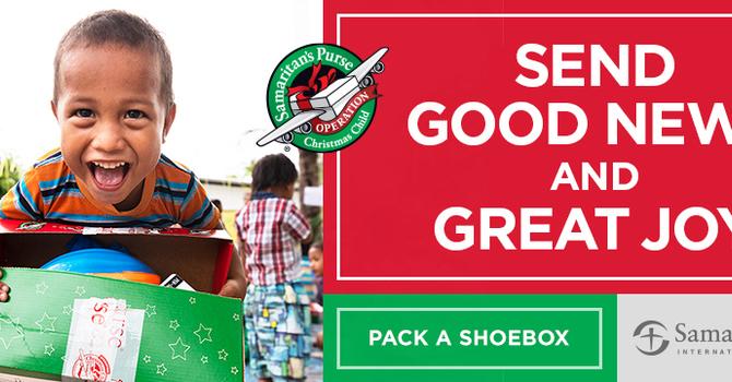 Shoebox Celebration Sunday