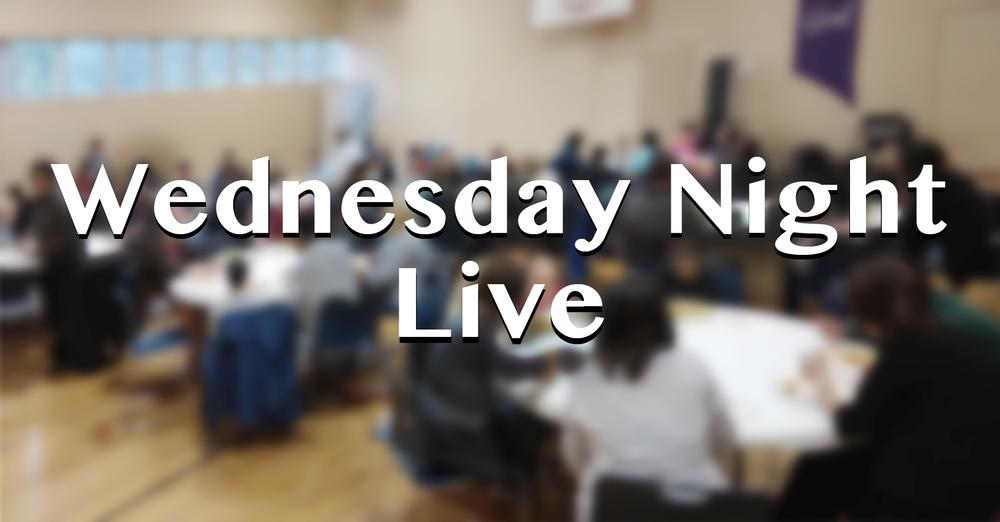 Wednesday Night Live - Kids program  周三晚兒童活動