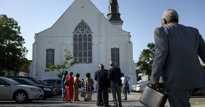 Re-entering the sanctuary for worship image