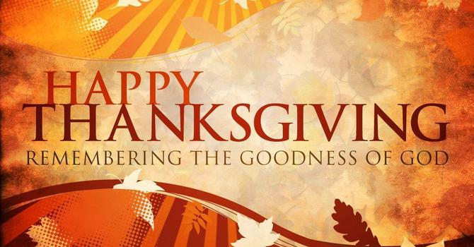 Thanksgiving Letter to the Parish image
