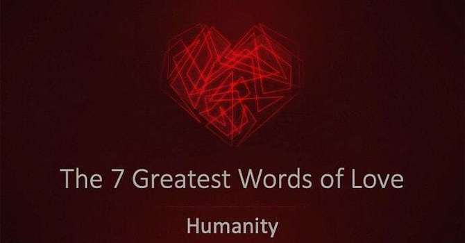 The Word Of Humanity