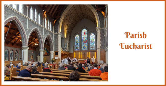 Parish Eucharist - Thanksgiving image