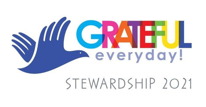 Grateful Everyday!  Stewardship 2021 - PLEDGE HERE image