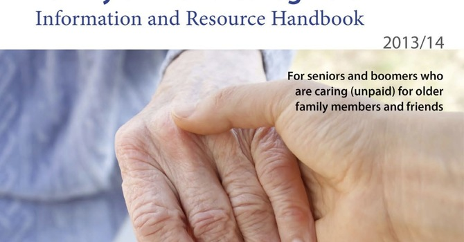 Caregivers Resource Handbook image