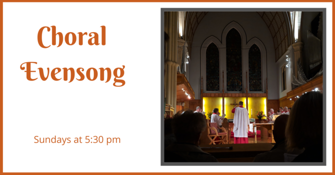 Choral Evensong - October 11, 2020 image