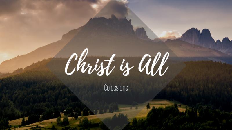 Colossians 1:1-14 - Jesus: The New Path