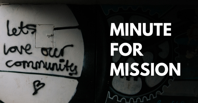 Minute for Mission: Food Is a Helping Hand to Families in Need image