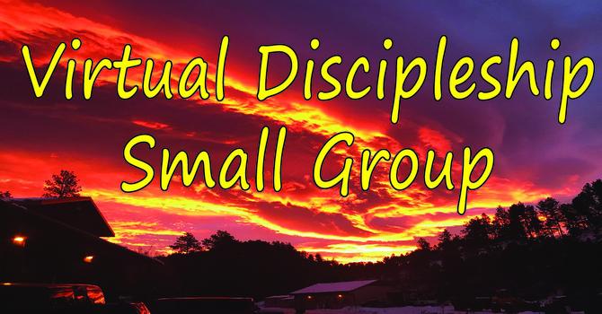 Virtual Discipleship Small Group
