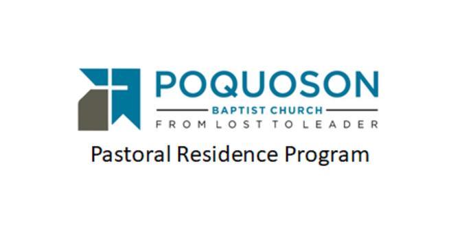 Pastoral Residency Program