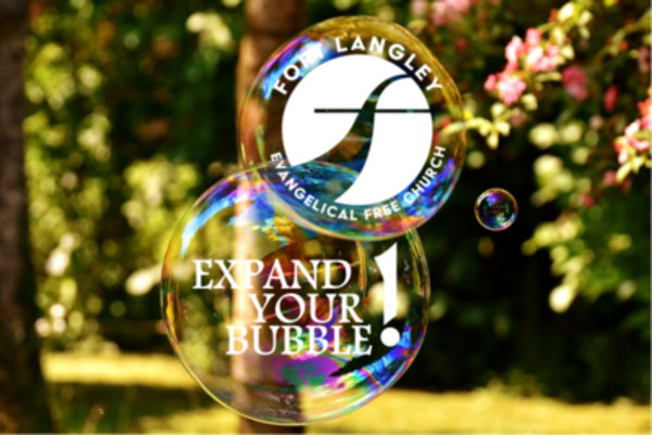 EXPAND YOUR BUBBLE!