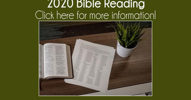 2020 Bible Reading
