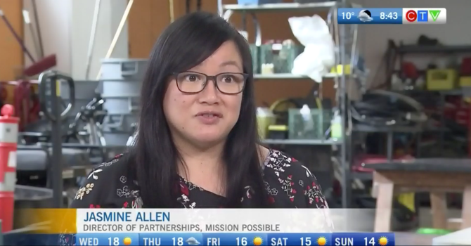 Jasmine Allen Talks with CTV Morning Live image